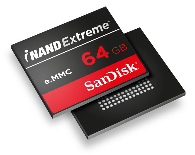 Sandisk iNAND 64GB