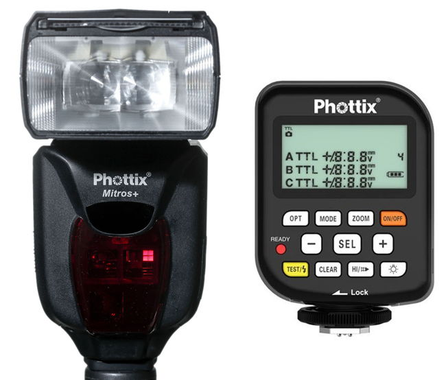 Kit Phottix Mitros+ y emisor Odin