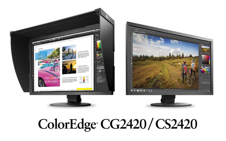 Monitores Eizo ColorEdge CG2420 y CS2420