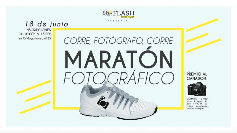 III Maratón fotográfico TOO MANY FLASH